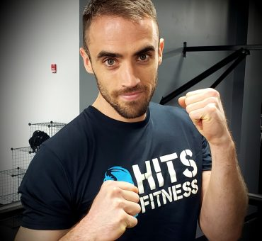 hits fitness boxing instructor Oliver